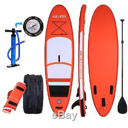 Fashion 11'' 10 (6 Thick) Stand Up Paddle Board Inflatable SUP USA Shipping