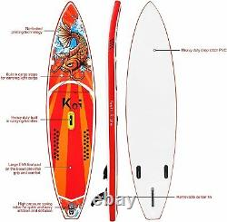Fayean 11'x33x6 Inflatable Stand up Paddle Board with Premium SUP Accessories