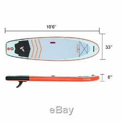 Freein Yoga Inflatable Board Stand Up Paddle Board 10'6 SUP Complete Package