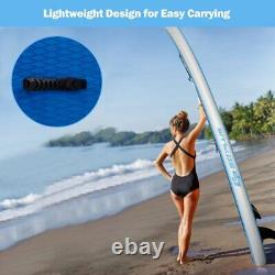Goplus 10' Inflatable Stand Up Paddle Board SUP With Fin Adjustable Paddle Backpac