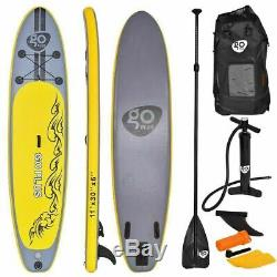 Goplus 11' Inflatable Stand up Paddle Board SUP with 3 Fins New Free Ship