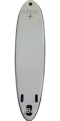 Gul Cross 10'7 Inflatable SUP Stand Up Paddle Boarding Board Package Unisex