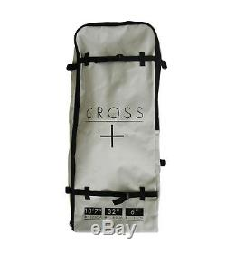 Gul Cross Surfboards 10' 7 Inflatable SUP Stand Up Paddle Board Bag Pump Paddle