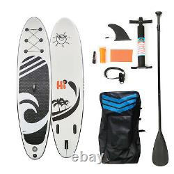 HIJOFUN Inflatable Paddle Board SUP 10'6 Stand Up Paddleboard Surfboard Surfing