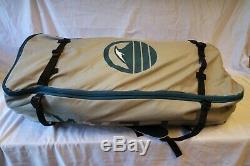 ISLE PEAK Inflatable 10'6 Stand Up Paddle Board, Aqua