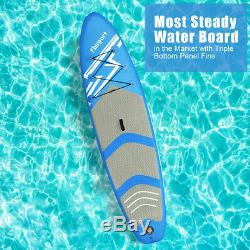Inflatable 10FT Paddle Board SUP Stand Up Paddleboard & Accessories 6 Thick