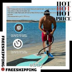 Inflatable Paddle Board (6 Inches Thick) Premium Stand Up SUP Accessories & Carr
