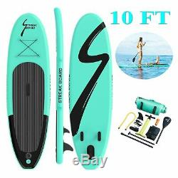 Inflatable SUP Stand Up Paddle Board 10'x30x 6 Kayak withcomplete kit USA