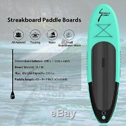 Inflatable SUP Stand Up Paddle Board 11'x30x 6 Kayak withcomplete kit