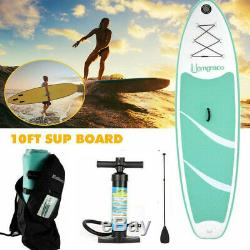 Inflatable SUP Stand Up Paddle Board, Paddle, Pump & Carry Bag EK