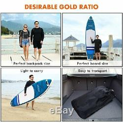 Inflatable Stand Up Paddle Board 10', iSUP Package withAdjustable Paddle Leash NEW