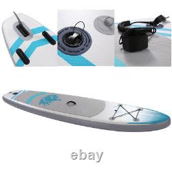 Inflatable Stand Up Paddle Board 10x30''x6'' Wide Stance Anti-Slip Deck Adults