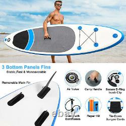 Inflatable Stand Up Paddle Board Deck Adult Surf Board Non-Slip Deck Paddleboard