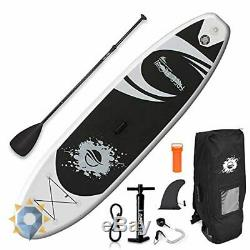 Inflatable Stand Up Paddle Board Foot Ocean Beach Adult 6 Premium Sup Set Foot