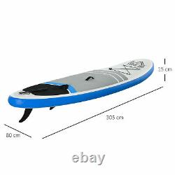 Inflatable Stand Up Paddle Board SUP Accessory Carry Bag Adj Paddle Pump Leash
