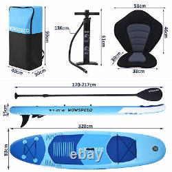 Inflatable Stand Up Paddle Board SUP Surfboard With Complete Kit 11' 6'' Thick