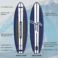 Inflatable Stand up Paddle Board 11'Long 32Width 6Thickness Isup Paddle Board