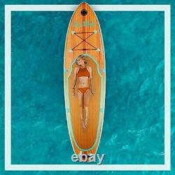 Inflatable Stand up Paddle Board Paddle, Fin, Pump, Leash, Repairing kit