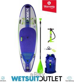 Jobe Venta Inflatable Stand Up Paddleboard 9'6 x 36 Paddle Pump Bag Leash
