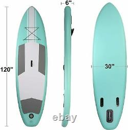 Koreyosh Inflatable Stand Up Paddle Board W SUP Accessories & Backpack Leash