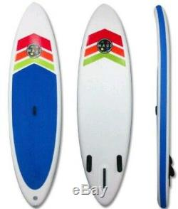 MAUI & SON Inflatable stand up PaddleBoard Backside