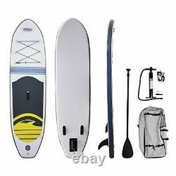 Massimo Stand Up Paddleboard SUP Paddle Board Case Pump Inflatable River Lake