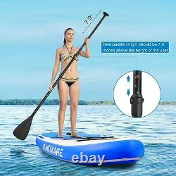 MaxKare Stand Up Paddle Board Inflatable Yoga Rigid Solid 10'× 30 ×6'' WH100BS