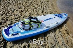 Mistral Trekker Adventurer Water Hiking 14' Inflatable Stand Up Paddleboard