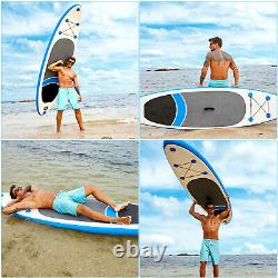NEWCaroma Inflatable Stand Up Paddle Board, Premium SUP with Accessories&Backpack