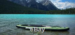 NEW 2019 Atoll 11'0 Foot Inflatable Stand Up Paddle Board Army Green