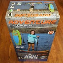 NEW SPORTSSTUFF SUP Adventure 1030 Stand Up ISUP Paddleboard with Accessories NEW
