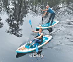 New Body Glove Porter 9'6 Inflatable Kayak Stand Up Paddle Board Package