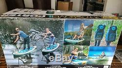 New Body Glove Porter 9'6 Inflatable Stand Up Paddle Board Kayak Package