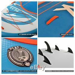 PEAK Titan 12' x 45 x 8 Multi Person Inflatable Stand Up Paddle Board