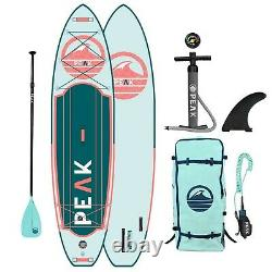 Peak Expedition Inflatable Stand Up Paddle Board Durable Lightweight Tourin