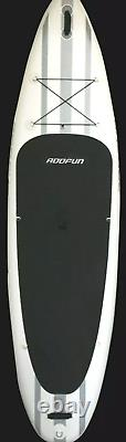 Premium 10'6 Inflatable Stand Up Paddle Board Surfboard withAccessories 6 Thick