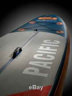 Pro6 P6-Pacific ISUP Inflatable Stand-Up Paddle Board 126x30x6, 10'6