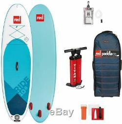 Red Paddle Co 10'8 x 34 Ride MSL Inflatable Stand Up Paddleboard Blue/White