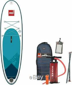 Red Paddle Co 9'8 x 31 Ride RSS/MSL Inflatable Stand Up Paddleboard Blue/White