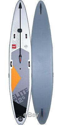 Red Paddle Co SUP Stand Up Paddle Boarding Elite MSL 12'6 X 28 Inflatable