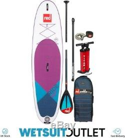 Red Paddle Co SUP Stand Up Paddle Boarding Ride SE Purple MSL 10'6 Inflatable