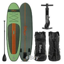 Retrospec The Weekender Inflatable Stand Up Paddle Board SUP 2019 (Forest Green)