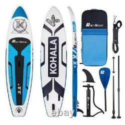 Runwave Inflatable Stand Up Paddle Board 11'×33''×6''(6'' Thick) Non-Slip Deck