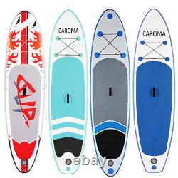 SALEInflatable Stand Up Paddle Board SUP Surfboard with complete kit 6'' thick