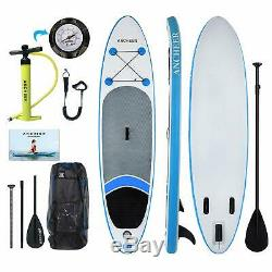 SUP Inflatable Stand Up Paddle Board 305 x 76 x 15cm With Paddle, Backpack, Pump