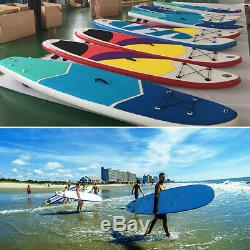 SUP Inflatable Stand Up Paddle Board SUP Removable Fin withOar US HOT SALE
