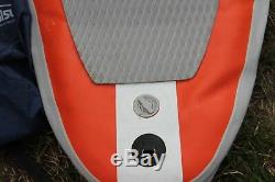 SURF TRIP Inflatable Paddle Board Stand Up Paddleboard SUP & Backpack