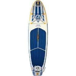 Scott Burke Inflatable 10 Ft Stand-up Paddle Board Vector White/blue/yellow