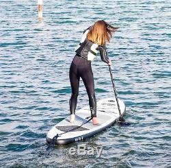 Stand Up Paddle 3.2 m Board Battleship Grey SUP Board Set HIKS 10'6 ft 320cm
