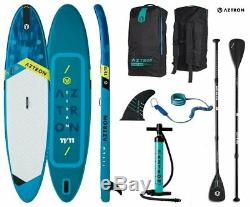 Sup Board Stand up Paddle Surf-Board Inflatable Incl. Paddle Isup Paddling 363cm